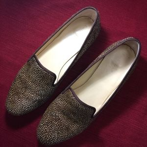 Cole Haan Fur Loafers